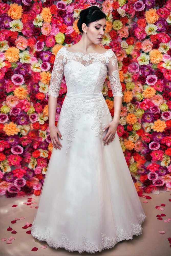 Brautkleid Model 514, Zary, Polen