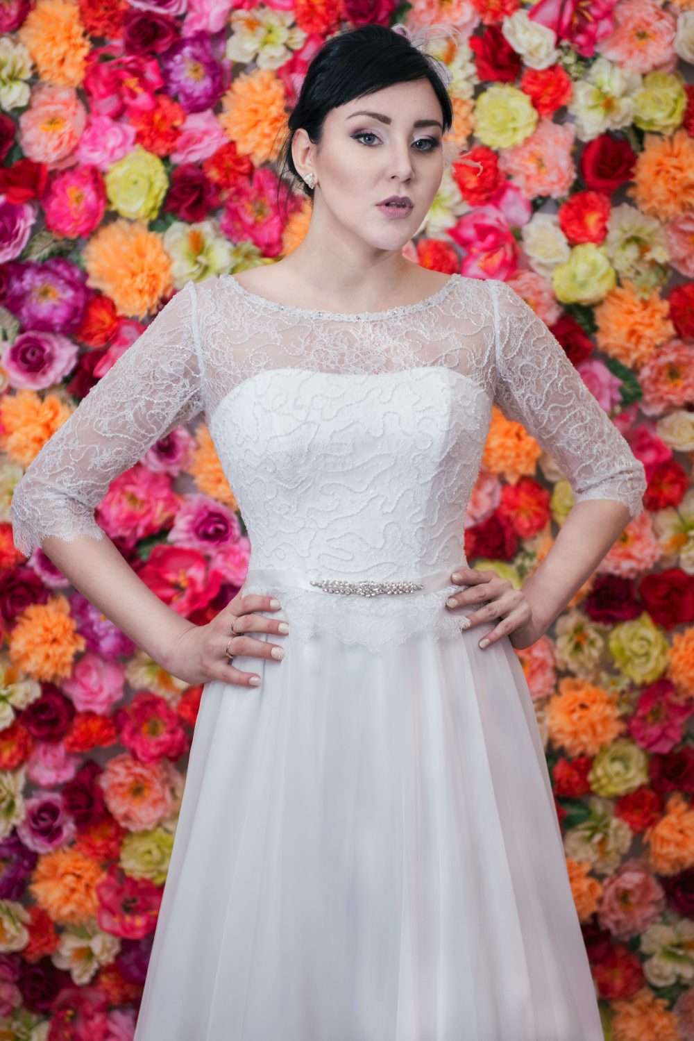 Suknia ślubna Model 711 Kolekcja Moda ślubna żary Lubuskie