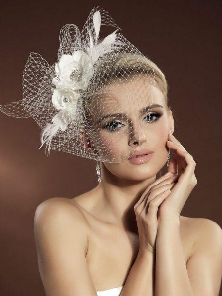 Woalki; Stroik do włosów; Ozdoby do włosów, fascynatory, stroiki; KOLEKCJA-Moda Ślubna, Żary