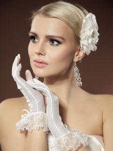 Rękawiczki ślubne; KOLEKCJA-Moda Ślubna, Żary