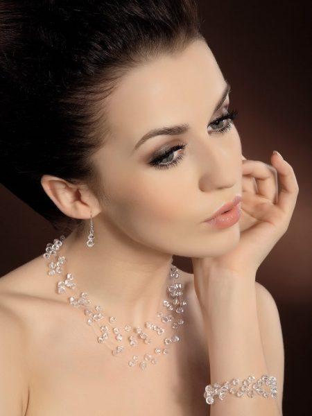 Biżuteria komplet 12; Biżuteria ślubna, KOLEKCJA-Moda Ślubna, Żary, ul. Podchorążych 16