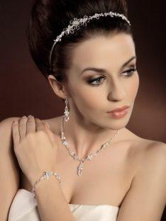 Biżuteria komplet 5 ; KOLEKCJA-Moda Ślubna