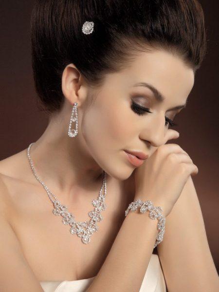 Biżuteria komplet 7, KOLEKCJA-Moda Ślubna