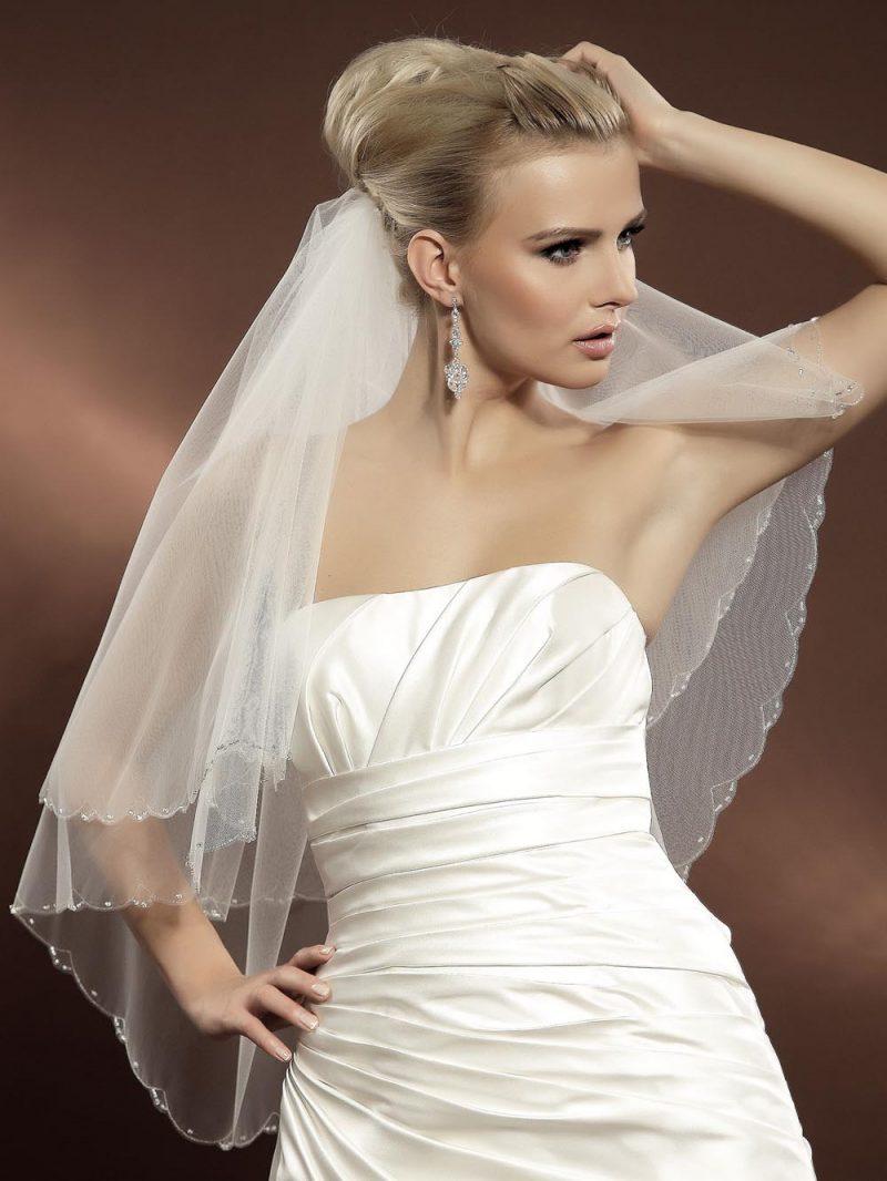 Welon ślubny Model Z37 KOLEKCJA-Moda Ślubna