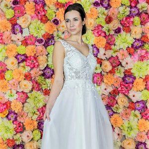 Blog, Rodzaje sukien ślubnych, czyli w jakiej sukni do ślubu?, suknia ślubna Model 814